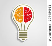bright idea | Shutterstock .eps vector #379454986