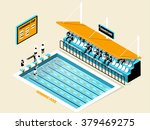 beautiful isometric design of... | Shutterstock .eps vector #379469275