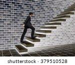 concept or conceptual 3d male... | Shutterstock . vector #379510528