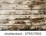 Closeup Pattern Of Old Oak Woo...