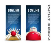 bowling realistic theme eps 10  ... | Shutterstock .eps vector #379525426