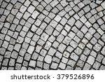 stone pavement texture. view... | Shutterstock . vector #379526896