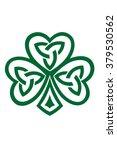 celtic shamrock symbol vector...   Shutterstock .eps vector #379530562