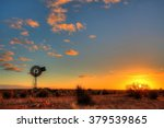 windmill in remote australian... | Shutterstock . vector #379539865