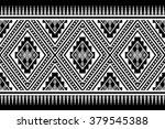 geometric ethnic pattern design ... | Shutterstock .eps vector #379545388