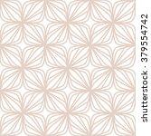 pattern made of geometry flowers | Shutterstock .eps vector #379554742