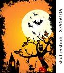 halloween night | Shutterstock .eps vector #37956106