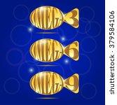 omega fatty acids. shiny shiny...   Shutterstock .eps vector #379584106