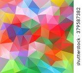 vector abstract irregular... | Shutterstock .eps vector #379587382