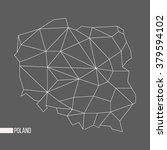 abstract polygonal geometric... | Shutterstock .eps vector #379594102
