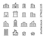 building line icon | Shutterstock .eps vector #379621135