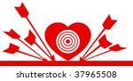heart target.