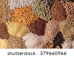 cereal grains   seeds  beans | Shutterstock . vector #379660966