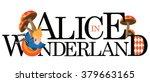 Alice Text Design. Eps 10...
