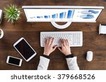 high angle view of...   Shutterstock . vector #379668526