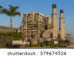 Small photo of Los Angeles, USA - November 14, 2015: The Redondo Beach Power Plant, a gas-powered electricity plant owned by AES, which future is the subject of ongoing discussions and election polls.