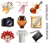 art icons detailed photo... | Shutterstock .eps vector #379678345