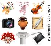 art icons detailed photo... | Shutterstock .eps vector #379678345