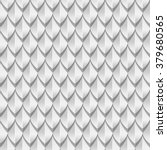 white dragon scales seamless... | Shutterstock .eps vector #379680565