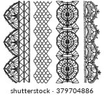isolated crocheted lace border