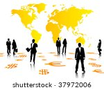 business people vector | Shutterstock .eps vector #37972006