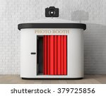 photo booth in front of brick... | Shutterstock . vector #379725856