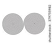 sign of infinity of spirals | Shutterstock .eps vector #379755982