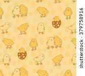 Chicken Easter Pattern