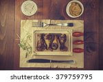 food. chicken legs and chicken... | Shutterstock . vector #379759795