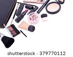 set of professional cosmetic ... | Shutterstock . vector #379770112