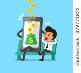 business concept cartoon... | Shutterstock .eps vector #379771852