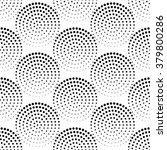 seamless pattern with dotted... | Shutterstock .eps vector #379800286
