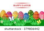 vector illustrations of spring... | Shutterstock .eps vector #379806442