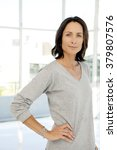 beautiful modern middle aged...   Shutterstock . vector #379807576