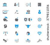 financial investment icon set    Shutterstock .eps vector #379811056