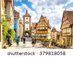 rothenburg ob der tauber  | Shutterstock . vector #379818058