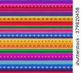 seamless ethnic mexican fabric... | Shutterstock .eps vector #379820458