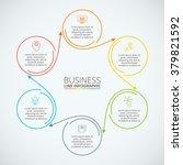 thin line flat circle...   Shutterstock .eps vector #379821592