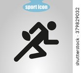 icon  of rugby player | Shutterstock .eps vector #379829032
