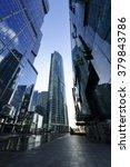skyscrapers  modern business... | Shutterstock . vector #379843786