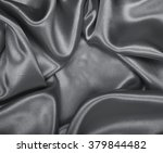 smooth elegant grey silk or... | Shutterstock . vector #379844482