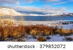 Kamloops Lake In Central...