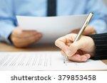 business people on meeting... | Shutterstock . vector #379853458