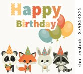Card For Birthday With Cute...