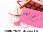 hand written mother's day... | Shutterstock . vector #379869142