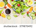 Fresh Vegetables Salad With...