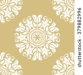seamless oriental ornament in... | Shutterstock .eps vector #379882996