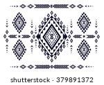 geometric ethnic pattern design