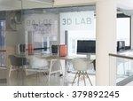 3d lab  new technology... | Shutterstock . vector #379892245