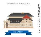sri dalada maligawa in sri...   Shutterstock .eps vector #379896778